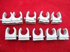 10x Fischer Rohrclip 15- 16mm  Rohrschelle Kunststoff für Ölleitung 15- 16mm