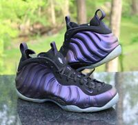 Nike Air Foamposite One Eggplant Men's Size 12 Black Purple 314996-008