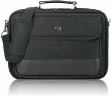 Solo Rockefeller 15.6 Inch Laptop Bag Slim Brief, Black