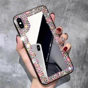 Luxury Fashion Diamond Mirror Glitter Women Girl Case Cover For Various Phone