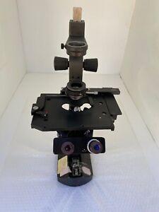 WILD HEERBRUGG M40 BINOCULAR INVERTED PHASE CONTRAST RESEARCH MICROSCOPE