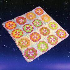 Ninja Star -Patchwork Throw / Baby Blanket Jojoland Knitting Pattern Lijuan Jing