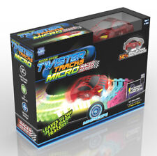 Mindscope Twister Tracks Glow Micro Track Set with Rechargeable Race Car