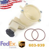 For 11-14 Chrysler 300 V6  V8 Power Steering Pump Reservoir replacement 603-939