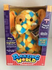 """GANZ AMAZING WORLD SERIES 2 PLUSH ELEPHANT STELLA"" + SECRET CODE INSIDE NEW"