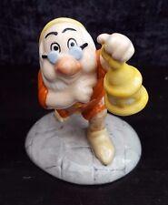 """Royal Doulton Snow White & 7 NANI - """"DOC CON LANTERNA"""" in scatola"""