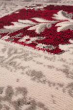 Wohnraum-Teppiche in aktuellem Design im Vintage -/Retro-Stil mit Blumenmuster