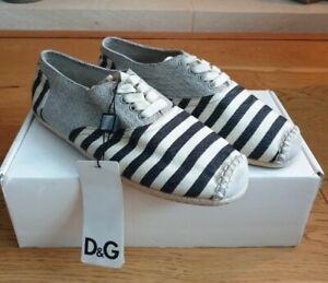 D&G Espadrille Mens Shoes BNWT