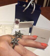 New $500 Authentic Atelier Swarovski Core Ring Size 58 Box + Mimco Dust Bag