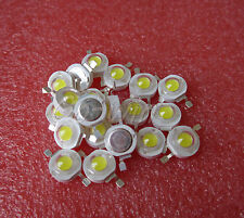 New listing 10Pcs 3W Led Chip High Power Led Beads 200Lm Pure white