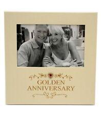 50th Wedding Anniversary Photo Frame Golden Anniversary Gift  Present