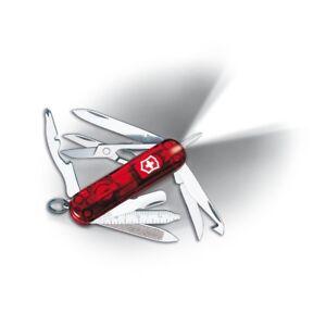 Victorinox Swiss Army Ruby Midnite Mini Champ Work Pocket Knife Multi Tool 53977