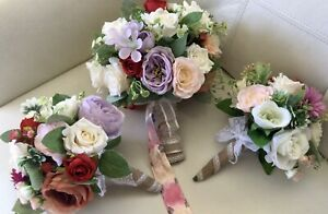 Mixed Rose Bridal bouquets package