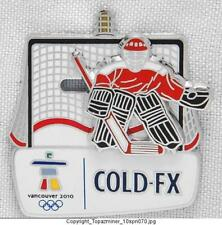 OLYMPIC PIN 2010 VANCOUVER CANADA COLD-FX HOCKEY SLIDER