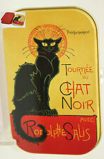 "Art Box Metalldose Metalldöschen Kunstdose Steinlen ""Chat Noir"""
