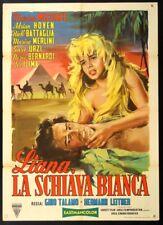 LIANA LA SCHIAVA BIANCA Liane, die weisse Sklavin MARION MICHAEL, MANIFESTO 1958