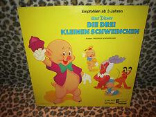 LP - Die drei kleinen Schweinchen - Walt Distney (STMA 9625) 1967