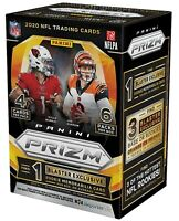 2020 Panini Prizm Football Blaster Box *Sealed* Herbert? Burrow? Tua?