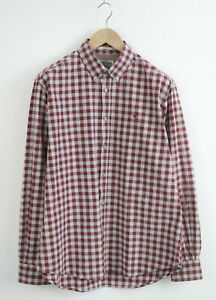 MARLBORO CLASSICS REGULAR FIT Men's XL Button Down Checked Casual Shirt 22864_JS