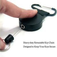 Retractable Key Chain Reel Recoil Pull Badge Reel High Quality For Durable J9V6