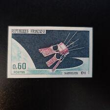 SATÉLITE D1 ESPACIO Nº1476 SELLO NO DENTADO IMPERF 1966 NEUF LUXE MNH