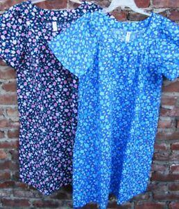 2 New Muu-Muu House-dresses  3X  Made in USA
