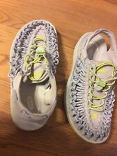 Keen Women Shoe Uneek Round Cord Size 7M Gray Sandal Pre Owned jq