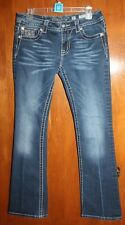 """MISS ME Size 30 SIGNATURE-RISE BOOT JEANS w/ 33"""" inseam - Excellent Condition"""