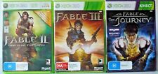 Fable 2, Fable 3 and Fable The Journey  Microsoft Xbox 360