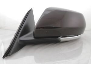 New Genuine OEM Power Mirror Driver 14-16 Cadillac ATS PLUM BSA Signal 23177513