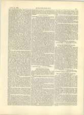 1883 Channel Tunnel, Facilitates Risk Of Invasion, John Mackenzie Letter