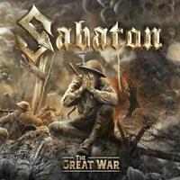 SABATON - THE GREAT WAR (BLACK VINYL) 180 GR.  VINYL LP NEW+
