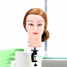Hair Training Head Model Stand Holder Hairdressing Clamp Practice Mannequin