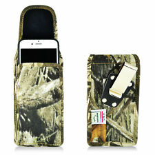 Turtleback  iPhone 6 6S Vertical Camo Nylon Pouch Holster Case Metal Belt Clip