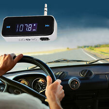 3.5mm In-Car LCD FM Transmitter for iPhone 5S iPod Samsung Galaxy MP3 Smartphone