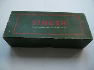 Vintage Singer box - marked Accessories for 201K Machine