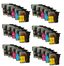 30 Ink Cartridges Compatible With Brother MFC-J415W DCP-J315W,DCP-J515W LC985