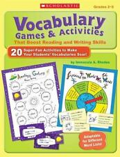 Vocabulary Games & Activities That Boost Reading and Writing Skills: 20