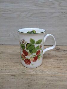 ROY KIRKHAM Fine Bone China Fruit Garden Collection Mug - Strawberry