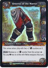 WARCRAFT WOW TCG CAVERNS OF TIME : GREAVES OF THE MARTYR X 4