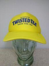 Twisted Tea Hard Iced Tea Yellow Double snapback Trucker Hat