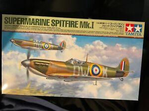 Tamiya 61119 1/48 Supermarine Spitfire MkI Plastic Model Kit Brand New