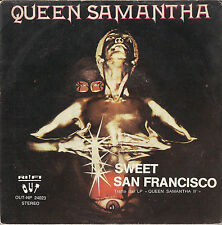 DISCO 45 giri QUEEN SAMANTHA sweet san Francisco // what's in your mind