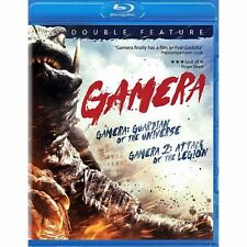 GAMERA: GUARDIAN OF THE UNIVERSE/GAMERA 2: ATTACK OF THE LEGION (BLU-RAY) NEW