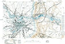 Trench Map WW1,  Arras, March 1917, 1:10,000 scale Ordnance Survey, Repro