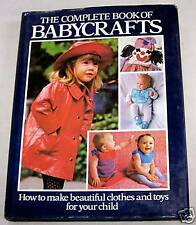 1981 HB BOOK OF BABYCRAFTS-CLOTHES-TOYS-CHILD-TODDLER