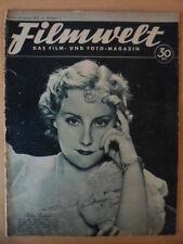 FILMWELT 2 - 10. Januar 1937 (2) Kitty Jantzen Magda Schneider Willy Birgel