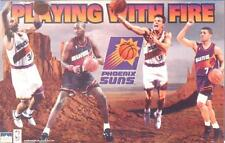 "1994 Phoenix Suns ""Playing With Fire"" Original Starline Poster OOP Barkley KJ"