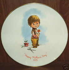 1973 Happy Mother's Day Porcelain Plate, Gorham, USA
