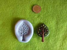 Árbol De Silicona mould/mold de polímero de arcillas, alimentos, Jabón, De Metal De Arcilla Y Más